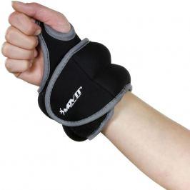 MOVIT 33065 Neoprenová kondiční zátěž 1,0 kg, černá Zátěžové náramky