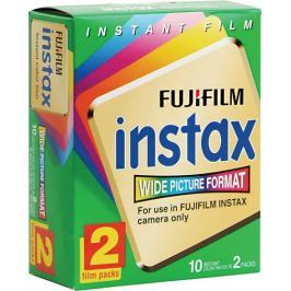Fujifilm Color film Instax Wide mini glossy Instantní film 20 fotografií