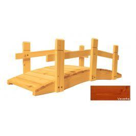 Gaboni 57271 Zahradní dřevěný můstek - 71 cm - VEVERKA