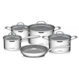 G21 Gourmet Miracle 53371 Sada nádobí s cedníkem, nerez/greblon - 9 dílů