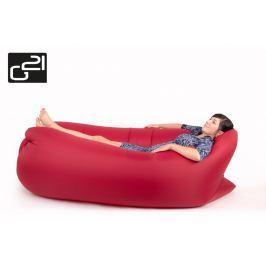 G21 Lazy Bag Red 51744 Nafukovací vak