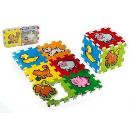 Pěnové puzzle Moje první zvířátka 12cm MPZ 6 ks Pro nejmenší