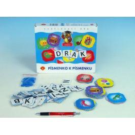 Teddies 47895 Písmenko k písmenku společenská hra v krabici 24,5x25x4,5cm