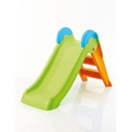 Keter BOOGIE 41307 Zahradní plastová skluzavka - zelená/oranžová