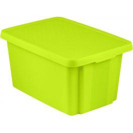 CURVER Úložný box s víkem  45L - zelený