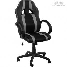 RACEMASTER® GS Tripes Series 39166 Kancelářská židle černá/šedý