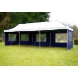 Náhradní střecha na zahradní skládací stan 3 x 9 m bílá Garthen D37008