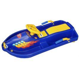 CorbySport Snow Boat 32612 Řiditelný bob - modrý