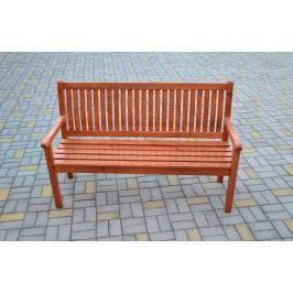 Tradgard BOSTON 2740 Zahradní lavice sv.hnědá FSC