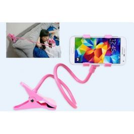 Připínací držák na telefon - Růžová