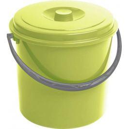 CURVER 55162 Kbelík s víkem  10L - zelený
