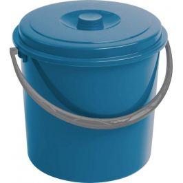 CURVER 55161 Kbelík s víkem  10L - modrý