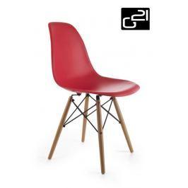G21 Timber Red 51739 Designová židle