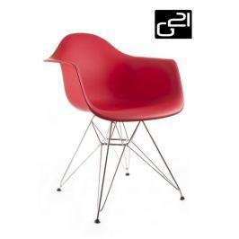 G21 Decore Red 51731 Designová židle