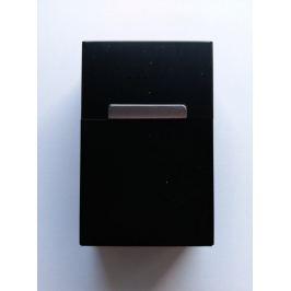 Plechová krabička na cigarety - Černá