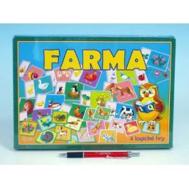 Farma společenská hra v krabici 28,5x20x3,5cm