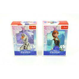 Minipuzzle Ledové království/Frozen 13x20cm 54 dílků  - 4 druhy