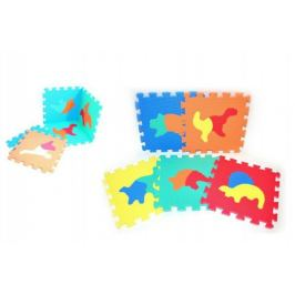 Dinosauři Pěnové puzzle 30x30cm 10ks v sáčku