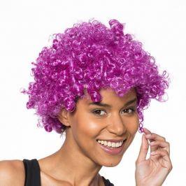 Afro paruka - fialová Paruky