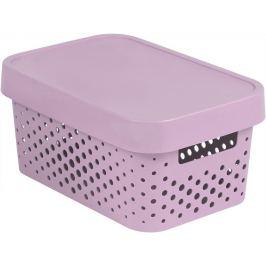 CURVER INFINITY DOTS Úložný box 4,5L - růžový