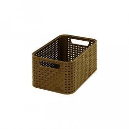 CURVER STYLE BOX 32296 Plastový úložný - S- kávový
