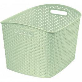 CURVER STYLE box 32267 Polyratanový košík - XL- krémový