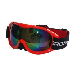 Brother 27844 Lyžařské brýle - dvojsklo - červené