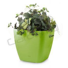 G21 Cube maxi Samozavlažovací květináč zelený 45cm
