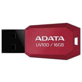 Adata USB 2.0 DashDrive UV100 Flashdisk 16GB červený