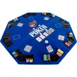 Garthen 57372 Skládací pokerová podložka - modrá
