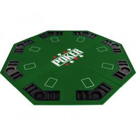 Garthen 57370 Skládací pokerová podložka - zelená