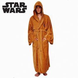 Pánský župan Star Wars - Jedi - hnědý
