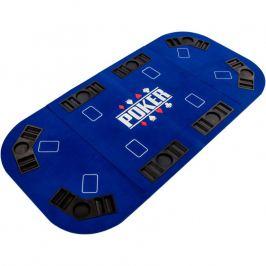 Garthen 57302 Skládací pokerová podložka - modrá