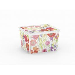 KIS C NATURE 57161 Plastový úložný box - CUBE Úložné boxy