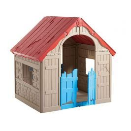 Keter FOLDABLE PLAYHOUSE 54605 Dětský hrací domek - béžový