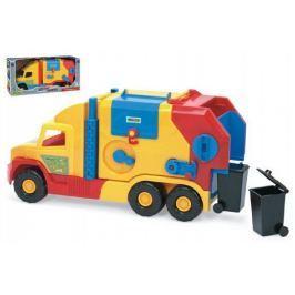 Auto Super Truck popeláři Wader 57cm v krabici