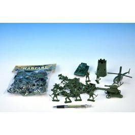 Sada vojáci s doplňky plast v sáčku 19x23x4cm