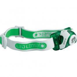 Ledlenser  SEO3 LED čelovka zelená, 3x AAA