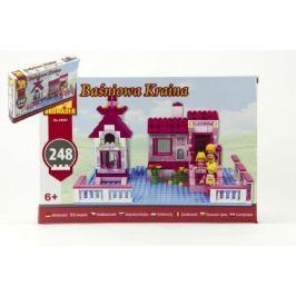 Stavebnice Dromader pro Holky 24501 248ks v krabici 32x21,5x5cm