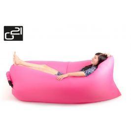 G21 Lazy Bag Pink 51743 Nafukovací vak