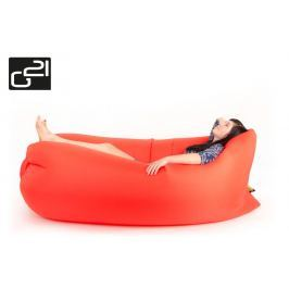 G21 Lazy Bag Orange 51742 Nafukovací vak