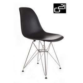 G21 Teaser Black 51737 Designová židle