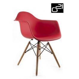 G21 Lumber Red 51733 Designová židle
