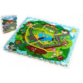 Město Moje první zvířátka MPZ Pěnové puzzle 30x30x1,2cm 9ks