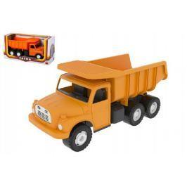 Auto Tatra 148 plast 30cm oranžová sklápěč v krabici