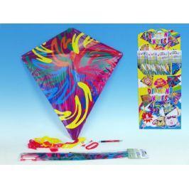Drak létající Diamant plast 61x66cm asst 6 druhů 60ks v boxu