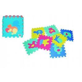Wiky 186211 Pěnové puzzle Zvířata 30x30cm 10 ks