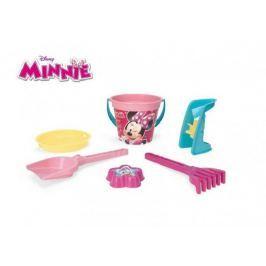 Sada na písek Minnie plast 6ks 35x23cm v síťce 12m+ Wader