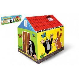 Domek/stan dětský Krtek 95x72x102cm polyester v krabici