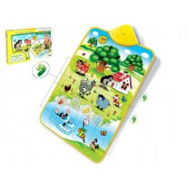Elektronická hrací podložka Krtek a zvířátka v krabici